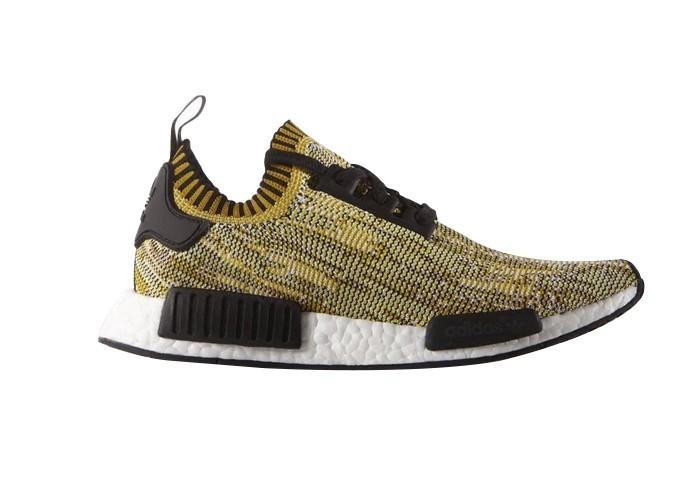 Compra Hombre Adidas Originals NMD High Top Sneaker Amarillo Negras Blancas S42131 Rebajas