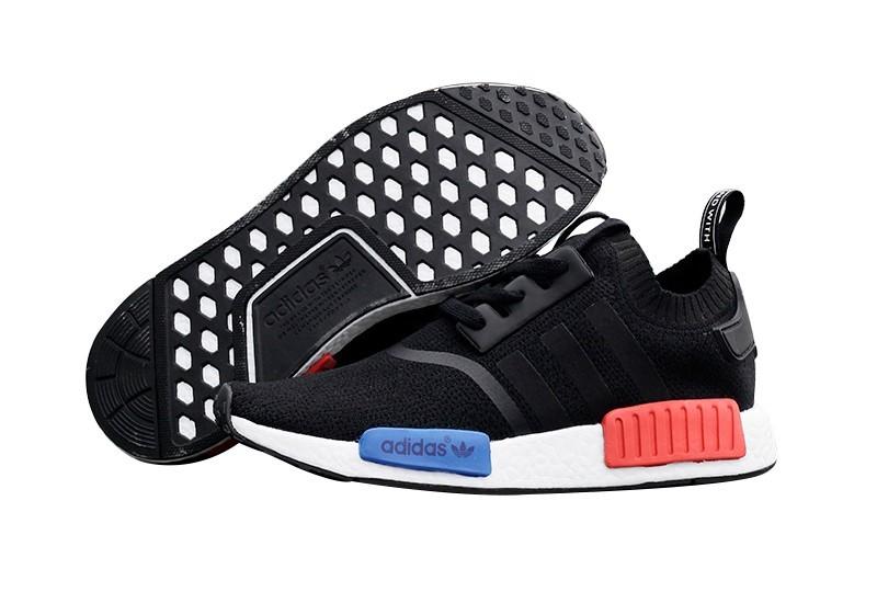 Comprar Hombre Adidas Originals NMD High Top Sneaker Negras Blancas Azul Rojas S79168 Baratos
