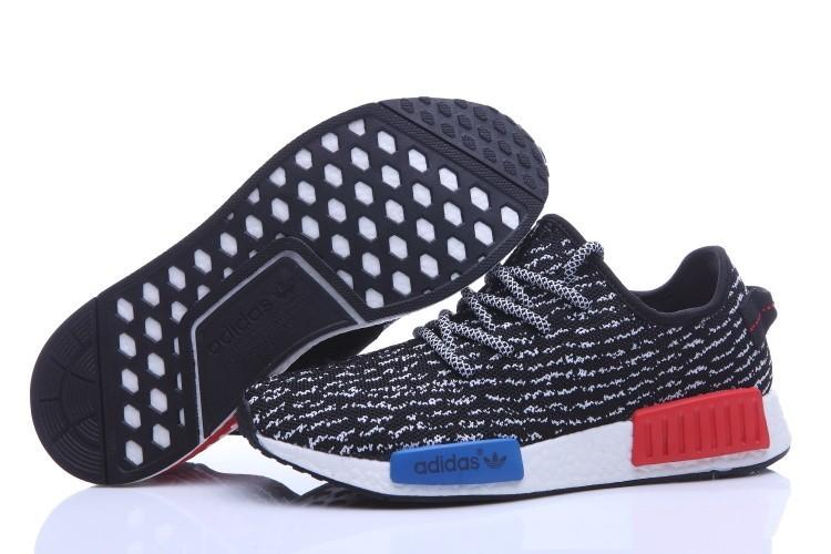 Comprar Adidas NMD Runner X Yeezy Boost 350 Hombre Zapatillas Negras Blancas Baratas