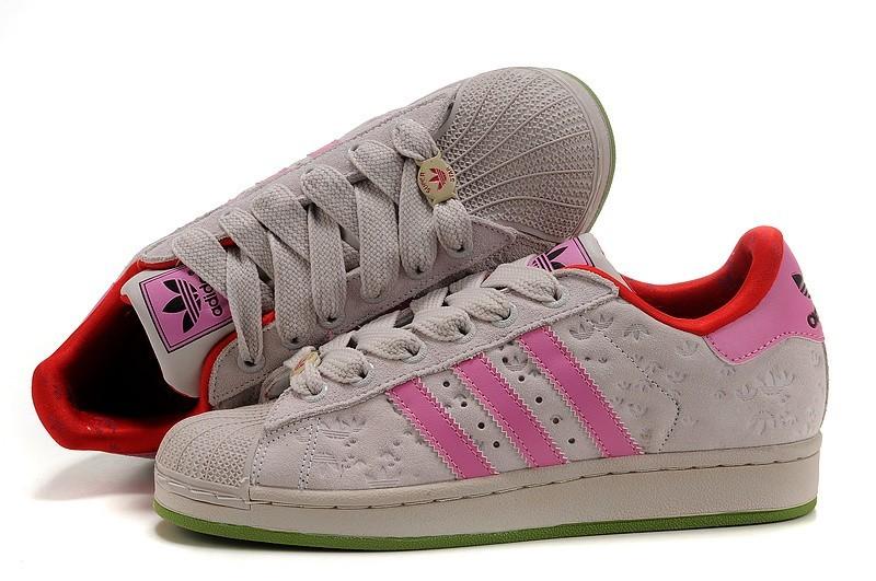 Venta Adidas Originals Superstar 2 Casual Zapatillas Mujer Beige Rosa 667200 España