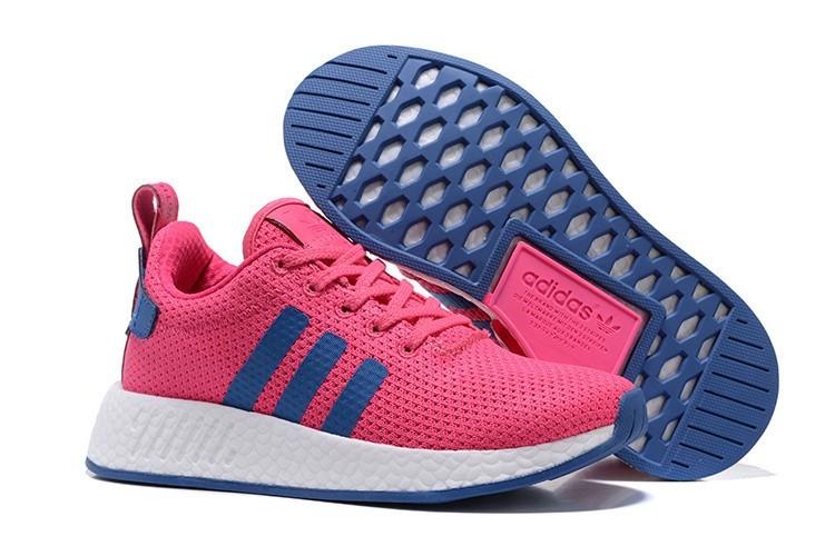 Comprar Mujer Adidas Originals NMD City Sock 2 PK Zapatillas de Running Rosa Azul BB2957 España Baratas