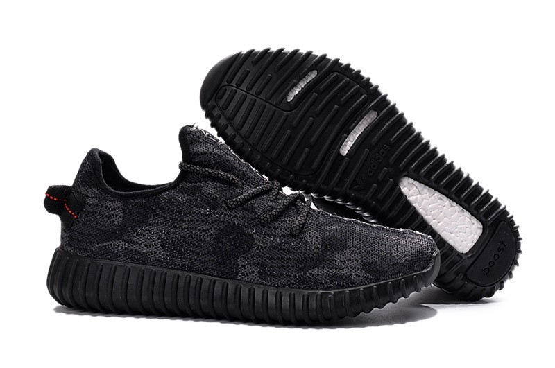 Comprar Adidas Yeezy Boost 350 Hombre Zapatillas Negras Camo AQ4837 España