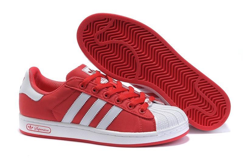 Oferta Adidas Originals Superstar 2 Casual Zapatillas Hombre Mujer Rojas Blancas G42581 Rebajas Online