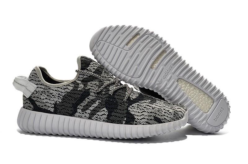 Nueva Adidas Yeezy Boost 350 Hombre Zapatillas Marino Grises AQ4843 Rebajas Online