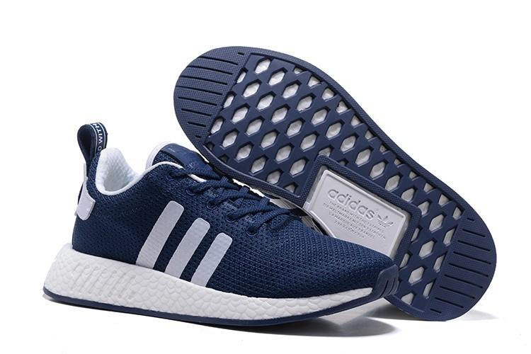 Venta Hombre Adidas Originals NMD City Sock 2 PK Zapatillas de Running Marino Blancas BB2954 Baratos