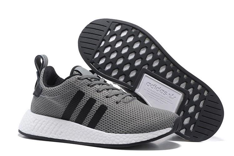 Nueva Hombre Adidas Originals NMD City Sock 2 PK Zapatillas de Running Oscuro Grises Negras BB2955 España