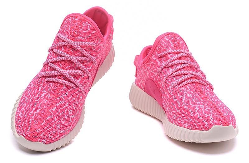 lowest price 2d06c 6b1a5 Compra Mujer Rosa Blancas Adidas Yeezy Boost 350 Zapatillas España Online