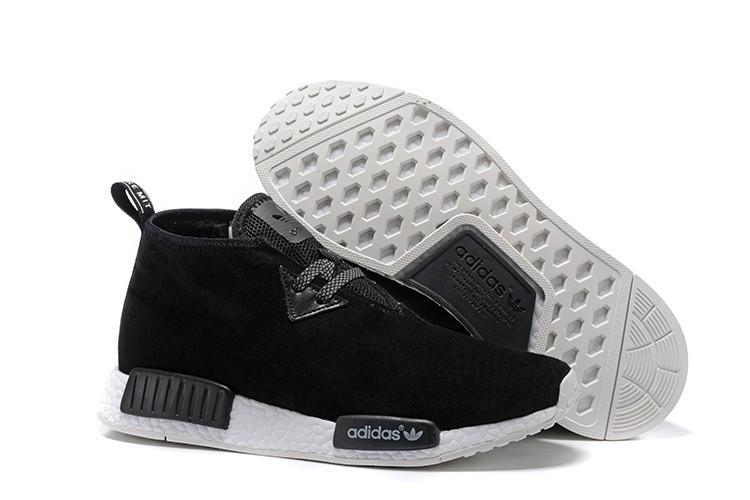 Nueva Hombre Adidas NMD Chukka Suede Zapatillas de Running Core Negras Running Blancas S79146 Rebajas Baratas