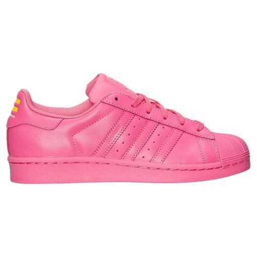 Compra Mujer Adidas Originals Superstar x Pharrell Williams Supercolor Casual Zapatillas Semi Solar Rosa S31606 Baratos