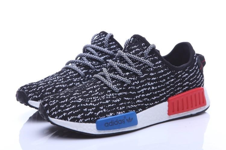 Comprar Adidas NMD Runner X Yeezy Boost 350 Hombre Zapatillas Negras  Blancas Baratas 7f2850c39bf84