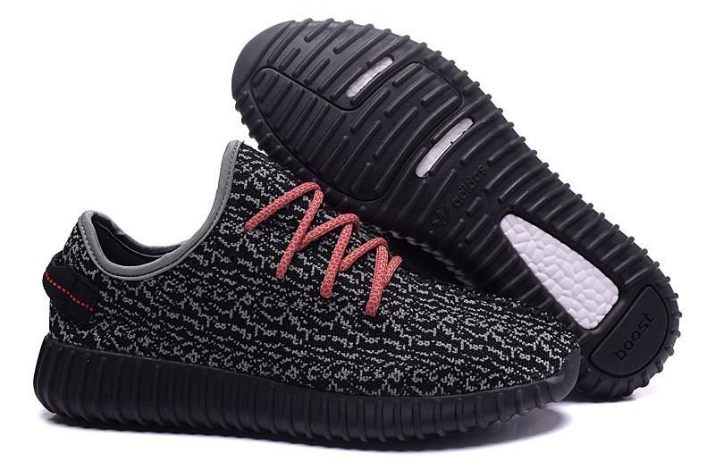 Nueva Hombre Adidas Yeezy Boost 350 Zapatillas Negras Grises Rojas España
