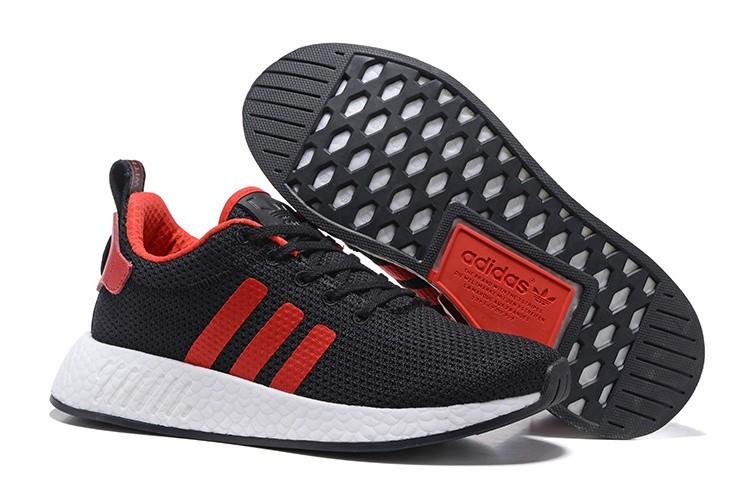 Oferta Hombre Adidas Originals NMD City Sock 2 PK Zapatillas de Running Negras University Rojas BB2952 Outlet España