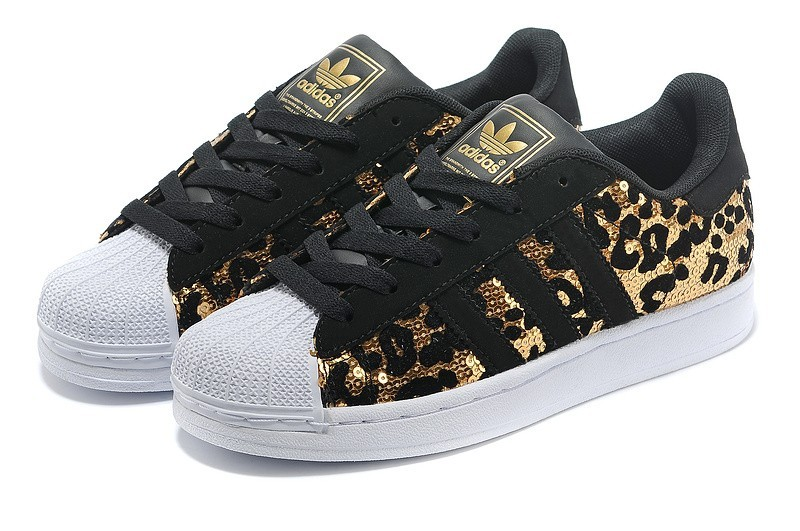 Comprar Adidas Originals Superstar Sparkle Hombre Mujer Casual Zapatillas  Negras Doradas España 9cf6692930d2e