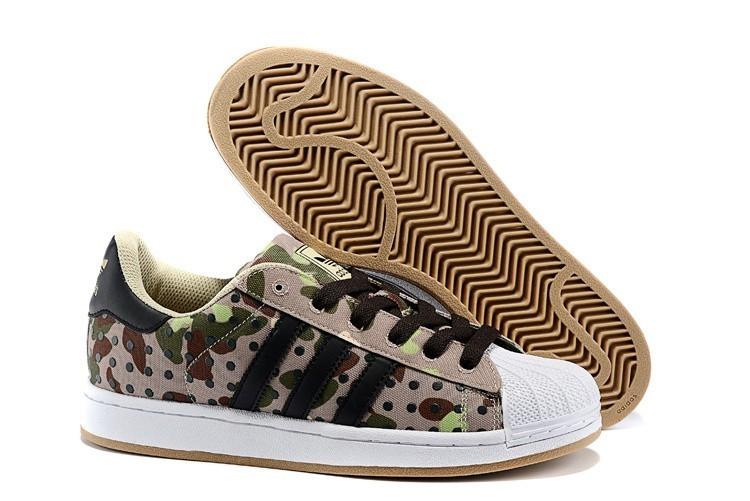 Oferta Adidas Originals Superstar II Polka Dot Casual Zapatillas Hombre Mujer Camouflage Camo M20729 Rebajas Online