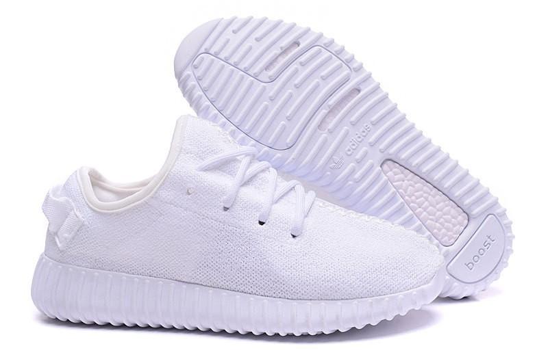 Oferta Mujer Adidas Yeezy Boost 350 Blancas Zapatillas España Baratas