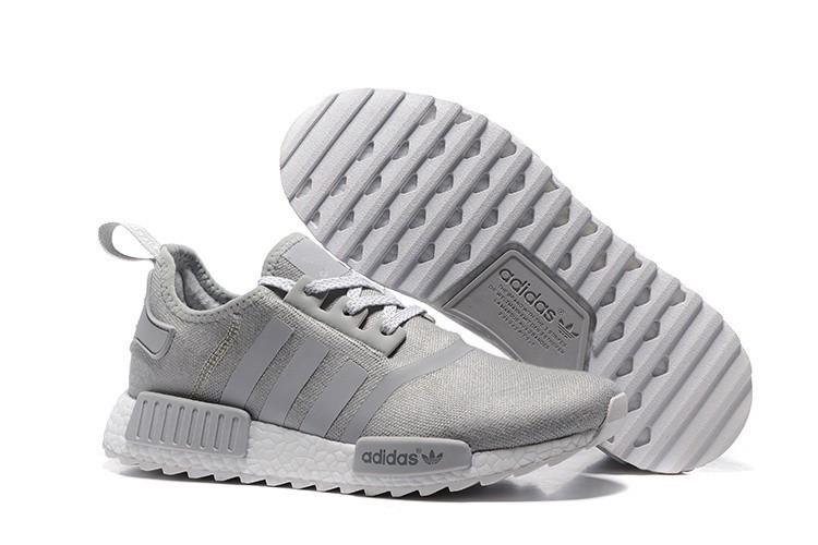 Nueva Hombre Adidas Originals NMD XR4 Zapatillas de Running Grises Teal Wolf Grises Rebajas Online