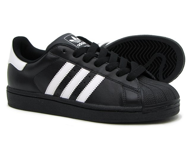 Oferta Hombre Adidas Originals Superstar II Zapatillas Negras Blancas G17067 España