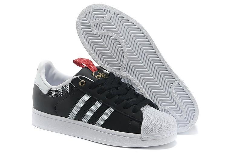 Venta Hombre Mujer Adidas Originals SS STD LUX Superstar Casual Zapatillas Negras Blancas G28352 Outlet España