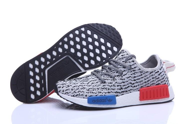 Venta Adidas NMD Runner X Yeezy Boost 350 Hombre Zapatillas Blancas Negras España Online