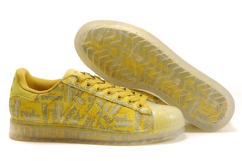 Oferta Hombre Mujer Adidas Originals Superstar CLR Zapatillas Amarillo 668588 España