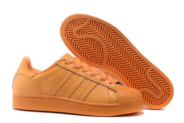 Venta Hombre Mujer Bright Naranja S83394 Adidas Originals Superstar Supercolor Pack Zapatillas España
