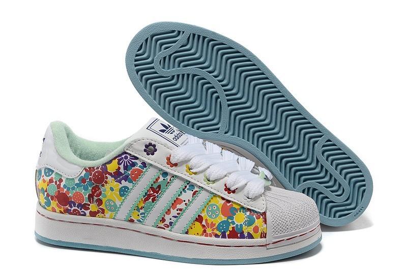Comprar Mujer Multi-color 028189 Adidas Originals Superstar 2 Print Casual Zapatillas Rebajas