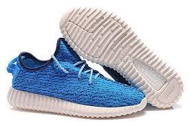Nueva Hombre Mujer Azul B35303 Adidas Yeezy Boost 350 Zapatillas Rebajas Baratas