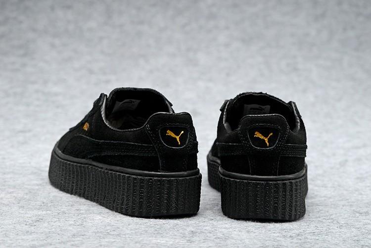 puma rihanna zapatillas mujer negras