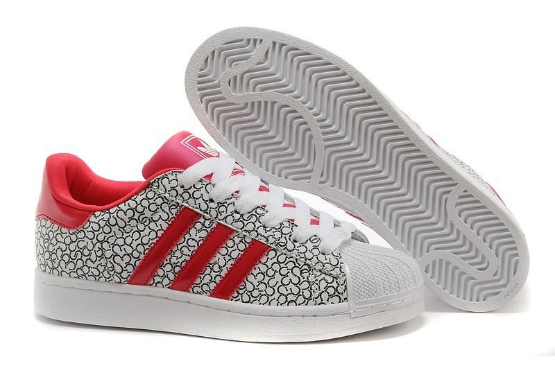 Venta Hombre Mujer Adidas Originals Superstar 2 Casual Zapatillas Pattern Grises Beauty Rojas D65478 Outlet España