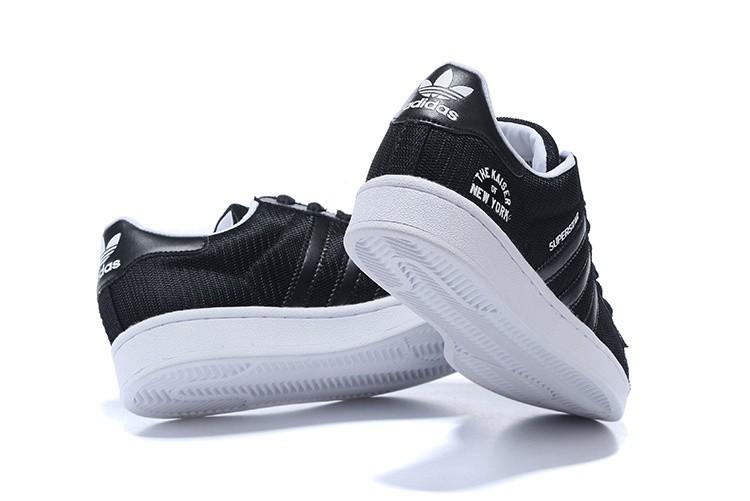 adidas beckenbauer hombre zapatillas negras