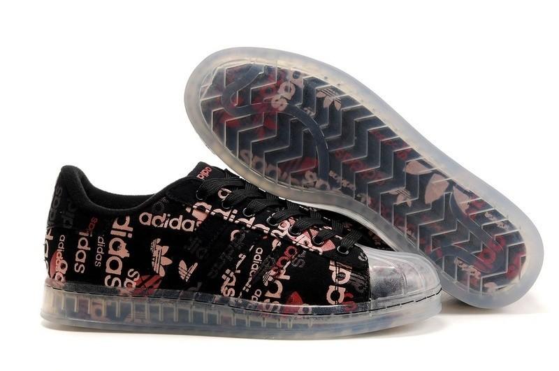Compra Mujer Negras Rosa 027780 Adidas Originals Superstar CLR Zapatillas Rebajas