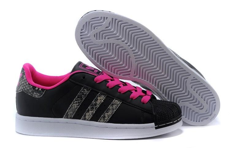 """Nueva Hombre Mujer Negras Rosa M20901 Adidas Originals Superstar 2.0 """"Snake"""" Casual Zapatillas Online Baratas"""