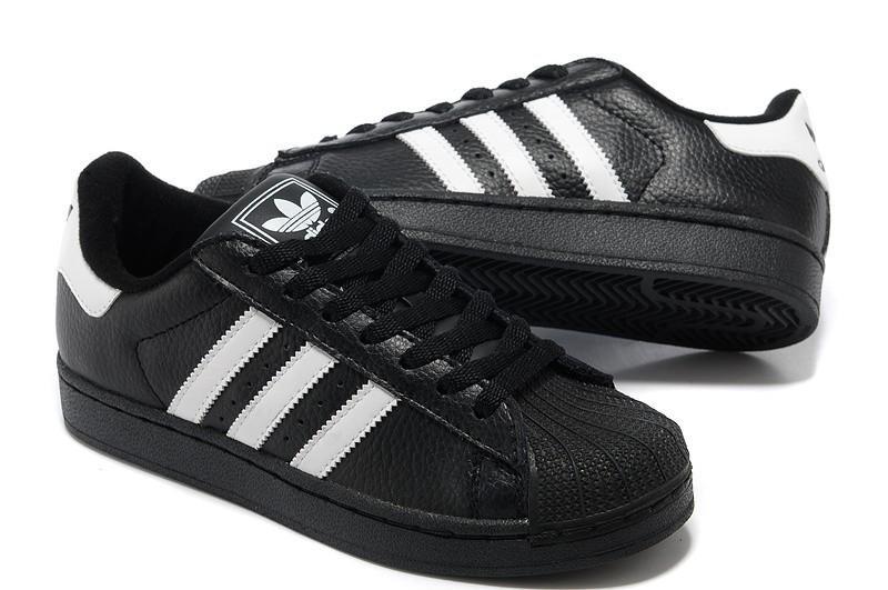 low priced 966b5 3a6c0 Venta Mujer Negras Blancas 664819 Adidas Originals Superstar 2 Casual  Zapatillas España Rebajas
