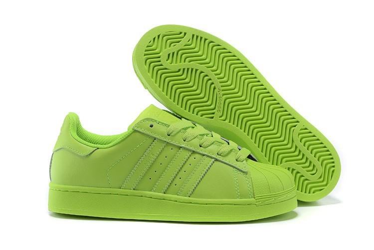 Comprar Adidas Originals Superstar Supercolor PHARRELL WILLIAMS Hombre Mujer Zapatillas SOLAR Amarillo S83398 Outlet España