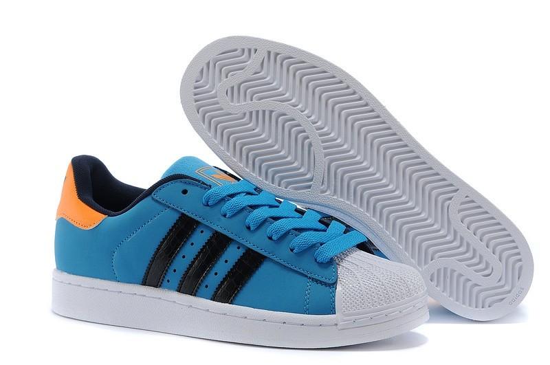 Nueva Hombre Mujer Adidas Originals Superstar 2 Solid Azul Running Blancas G99859 Casual Zapatillas Rebajas