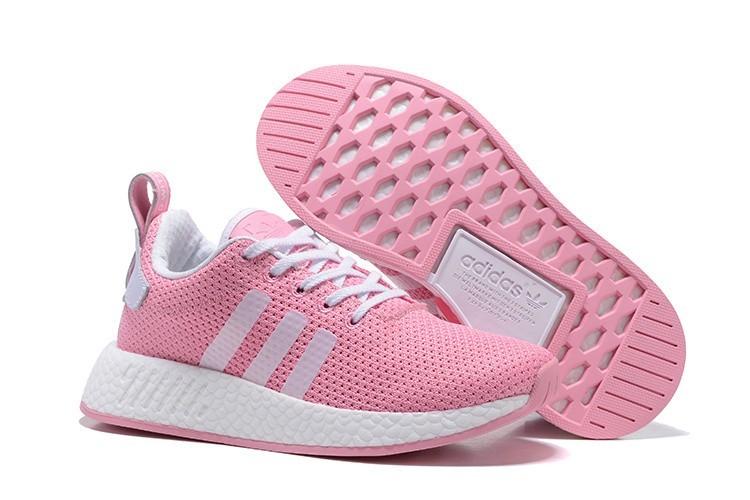 Oferta Mujer Adidas Originals NMD City Sock 2 PK Zapatillas de Running Rosa Blancas BB2958 España Online