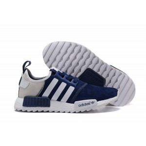 Comprar Hombre Adidas NMD XR4 Running Suede Zapatillas Marino Blancas Cream España