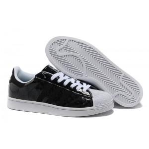 Nueva Hombre Mujer Adidas Originals Superstar 2 Casual Zapatillas Negras Blancas G60979 Rebajas Baratas