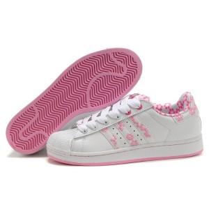 Comprar Adidas Originals Superstar 2 Mujer Casual Zapatillas Blancas Rosa Rebajas Online