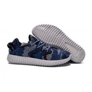 Comprar Adidas Yeezy Boost 350 Hombre Zapatillas Marino Camo AQ4841 España Rebajas