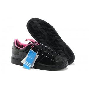 Nueva Hombre Adidas Originals SS STD LUX Superstar Casual Zapatillas Negras Rosa G28359 Baratos