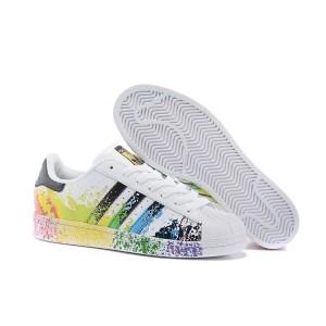 Venta Hombre Mujer Adidas Originals Superstar Pride Pack Zapatillas Running Blancas Ftw Core Negras Running Blancas Ftw D70351 Online Baratas