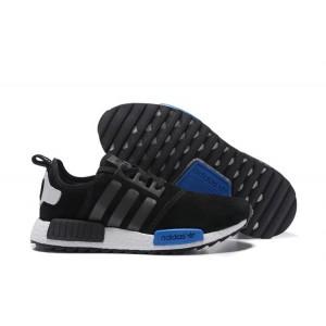Nueva Hombre Mujer Adidas NMD XR4 Running Suede Zapatillas Negras Photo Azul Outlet España