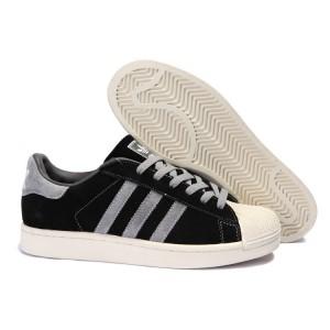 Compra Hombre Adidas Originals Superstar 2 Casual Zapatillas Negras Grises 096976 España Online