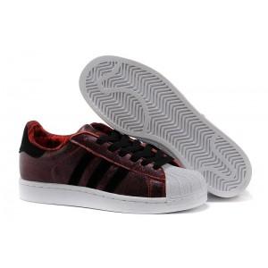 Oferta Hombre Mujer Adidas Originals Superstar 2 CNY Casual Zapatillas Claro Scarlet Negras Running Blancas D65600 Baratas