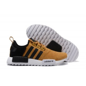 Comprar Adidas NMD XR4 Running Suede Hombre Zapatillas Khaki Negras Baratas