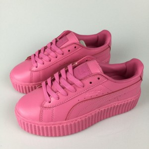 Oferta Mujer Puma by Rihanna Leather Creepers Zapatillas Plum Online Baratas