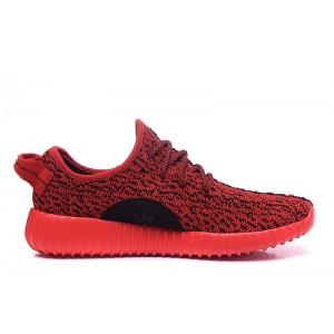 Venta Hombre Mujer Solar Rojas Adidas Yeezy Boost 350 Zapatillas Baratas