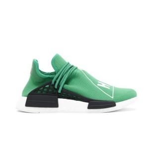 "Nueva Pharrell x Adidas NMD ""Human Race"" Hombre Zapatillas de Running Glass Verdes Negras BB0620 Baratas"