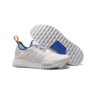 Venta Hombre Adidas Originals NMD XR4 Zapatillas de Running Blancas Royal Azul Baratas